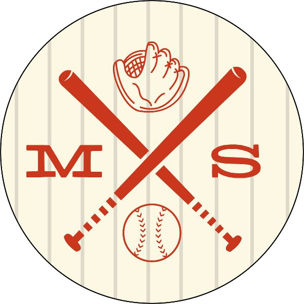 Baseball Personalized Stickers
