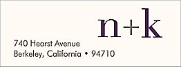 Initials Return Address Label