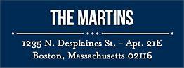 Playbill Return Address Label - Martin