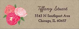 Love is in Bloom Return Address Label
