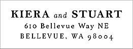 Estate Return Address Label