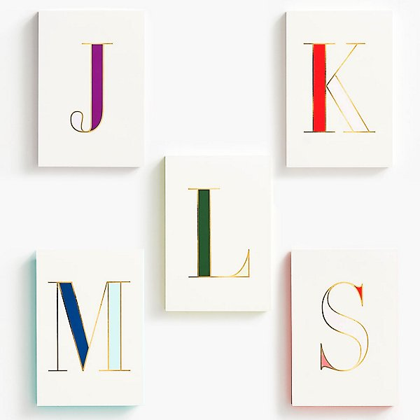 Monogrammed Notepads Paper Source
