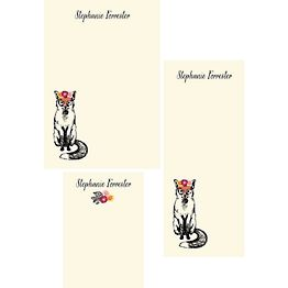 Woodland Fox Mixed Personalized Notepads