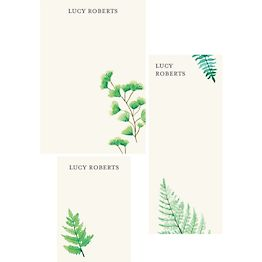 Ferns Mixed Personalized Notepads