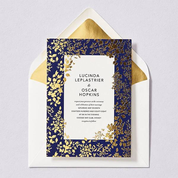 Richmond Park Wedding Invitation
