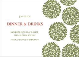 Moss Bundles Party Invitation