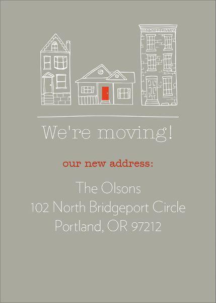 Red Door Moving Announcement
