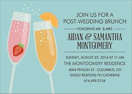 Mimosa Brunch Invitation