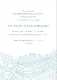 Waves Party Invitation