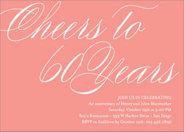Cheers Years Party Invitation