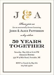 Foil Stamped Ampersand Initials Party Invitation