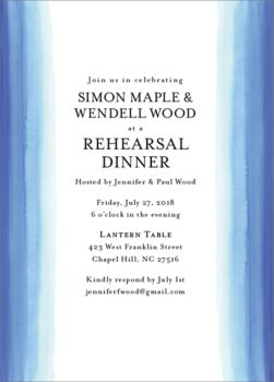 Wedding Rehearsal Dinner Invitations Paper Source