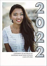 Grad Year Photo Graduation Announcement
