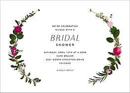 Belvoir Bridal Shower Invitation