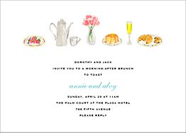 Brunch Brunch Invitation