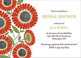 Daisies Bridal Shower Invitation