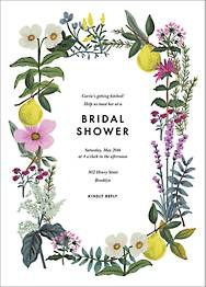 Herb Garden Bridal Shower Invitation
