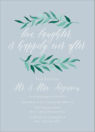 Vine Branch Engagement Party Invitation