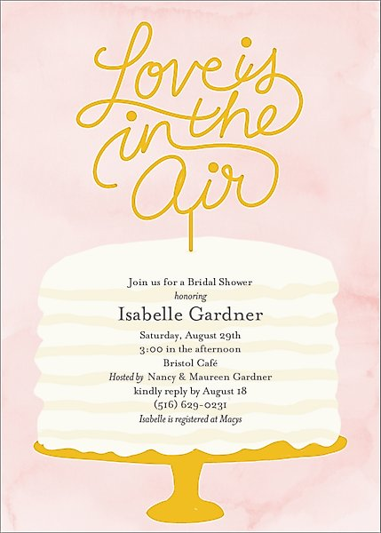 Love Is In The Air Bridal Shower