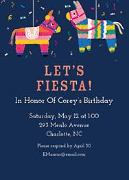 Pinata Birthday Party Invitation