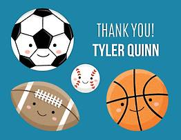Sports Thank You Notes