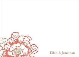 Cottage Blooms Stationery