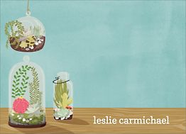 Terrariums Stationery