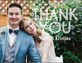 Inline Photo Thank You Notes