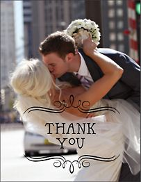 Vintage Marquis Photo Thank You Notes