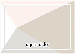 Blush Angles Stationery