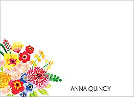 Spring Bouquet Stationery