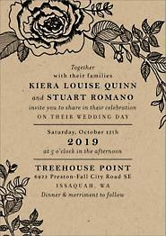 Estate Wedding Invitation