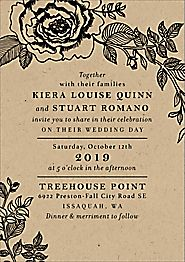 Estate Wedding Invitation