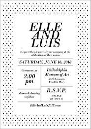 Collette Wedding Invitation