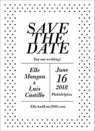 Collette Save the Date Card