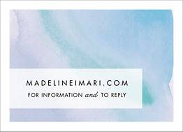Sunrise Wedding Response Card