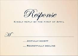 Classic Script Shimmer Response Card