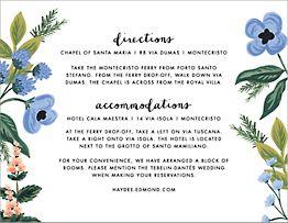 August Herbarium Information Card