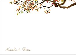 Autumn Boughs Stationery