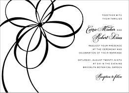 Belle Boulevard Wedding Invitation