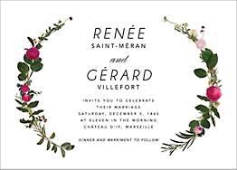 Belvoir Wedding Invitation