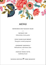 Birch Monarch Menu