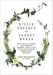 Chincoteague Wedding Invitation