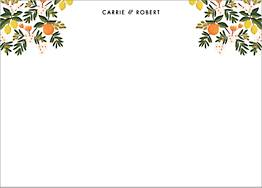 Citrus Orchard  Stationery