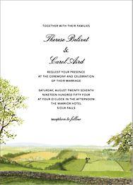 Devonshire Wedding Invitation