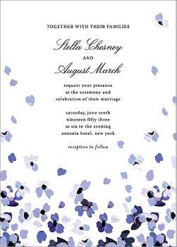 Faial Wedding Invitation