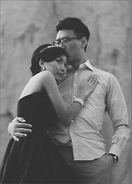 Full-Page Photo V Wedding Wedding Invitation