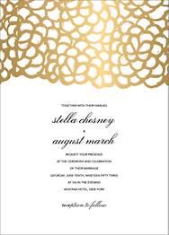 Gardenia Wedding Invitation