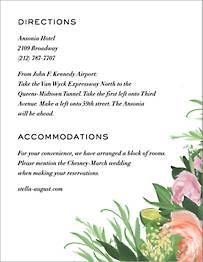 Gramercy Garden Information Card