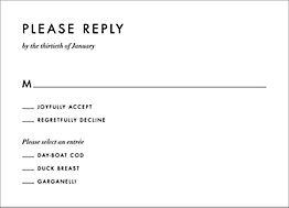 Herb Garden Response Card